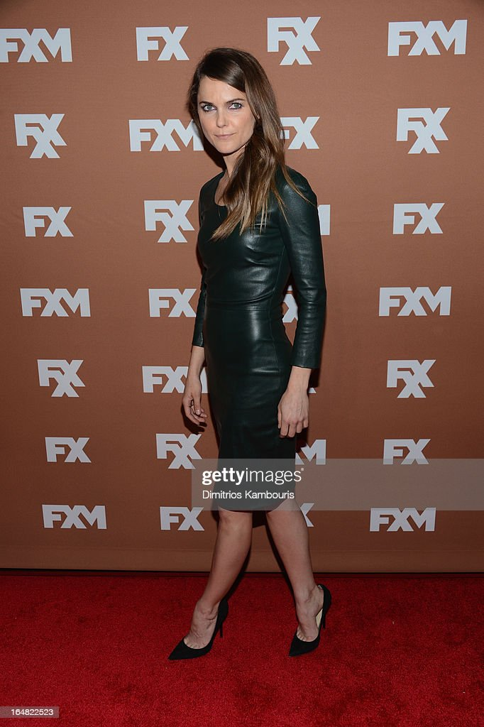 Actress Keri Russell attends the 2013 FX Upfront Bowling Event at Luxe at Lucky Strike Lanes on March 28, 2013 in New York City.