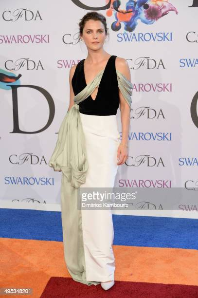 Actress Keri Russell attends the 2014 CFDA fashion awards at Alice Tully Hall Lincoln Center on June 2 2014 in New York City