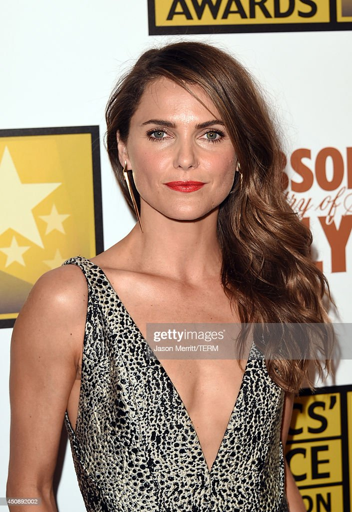 Actress <a gi-track='captionPersonalityLinkClicked' href=/galleries/search?phrase=Keri+Russell&family=editorial&specificpeople=203250 ng-click='$event.stopPropagation()'>Keri Russell</a> attends the 4th Annual Critics' Choice Television Awards at The Beverly Hilton Hotel on June 19, 2014 in Beverly Hills, California.