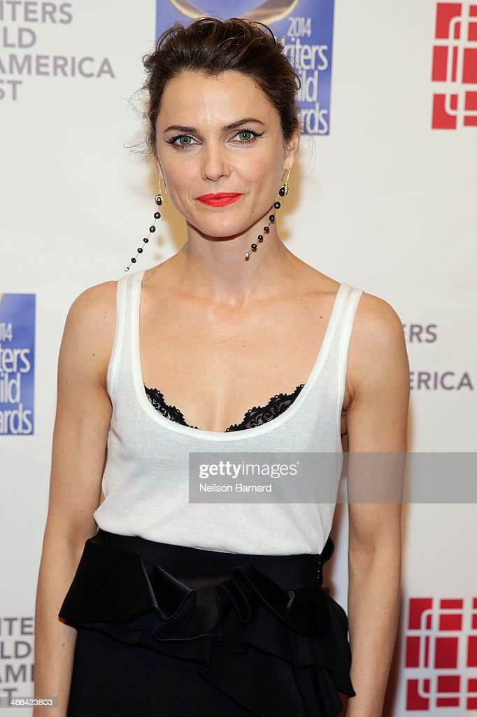 Actress Keri Russell attends The 66th Annual Writers Guild Awards East Coast Ceremony at The Edison Ballroom on February 1, 2014 in New York City.