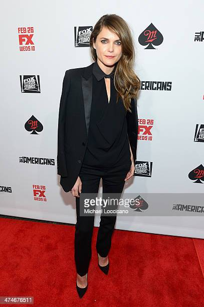 Actress Keri Russell attends 'The Americans' season 2 premiere at the Paris Theater on February 24 2014 in New York City