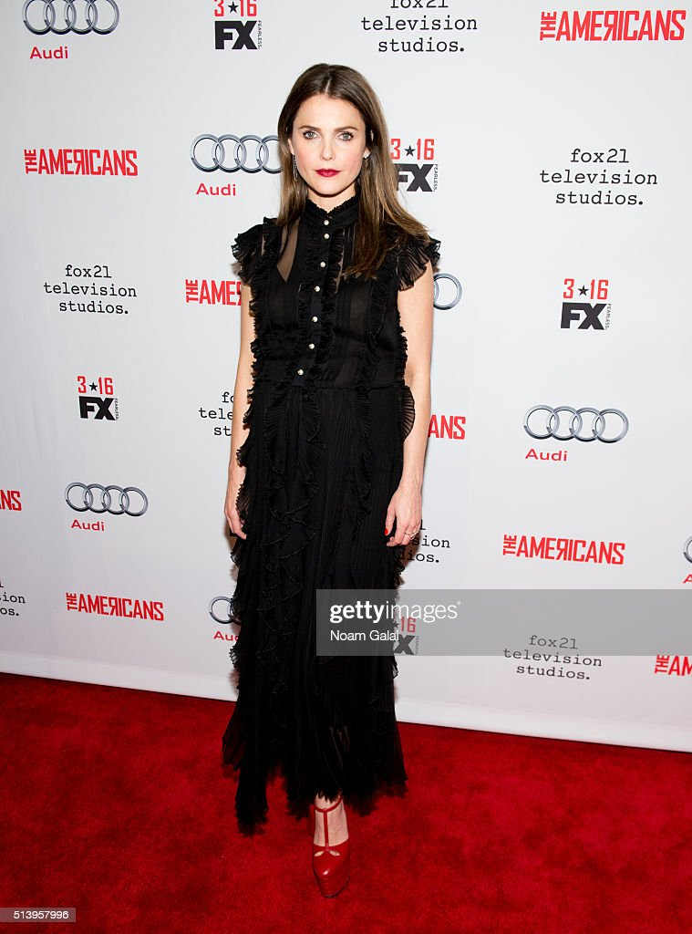 Actress Keri Russell attends 'The Americans' season 4 premiere on March 5, 2016 in New York City.