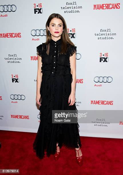 Actress Keri Russell attends 'The Americans' season 4 premiere on March 5 2016 in New York City