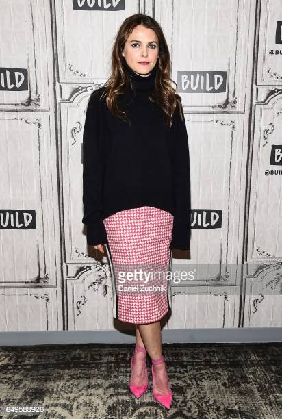 Actress Keri Russell attends the Build Series to discuss the show 'The Americans' at Build Studio on March 8 2017 in New York City