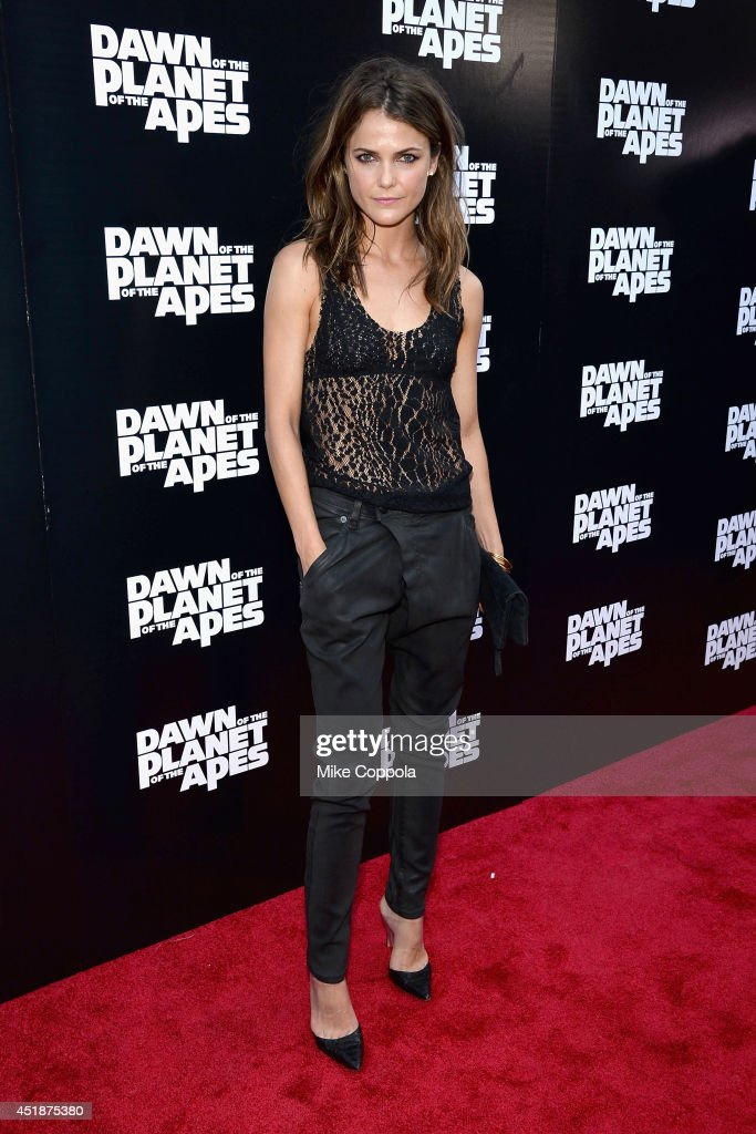 Actress Keri Russell attends the 'Dawn Of The Planets Of The Apes' premiere at Williamsburg Cinemas on July 8 2014 in New York City