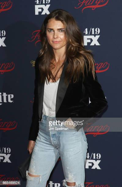 Actress Keri Russell attends the FX Network 2017 AllStar Upfront at SVA Theater on April 6 2017 in New York City