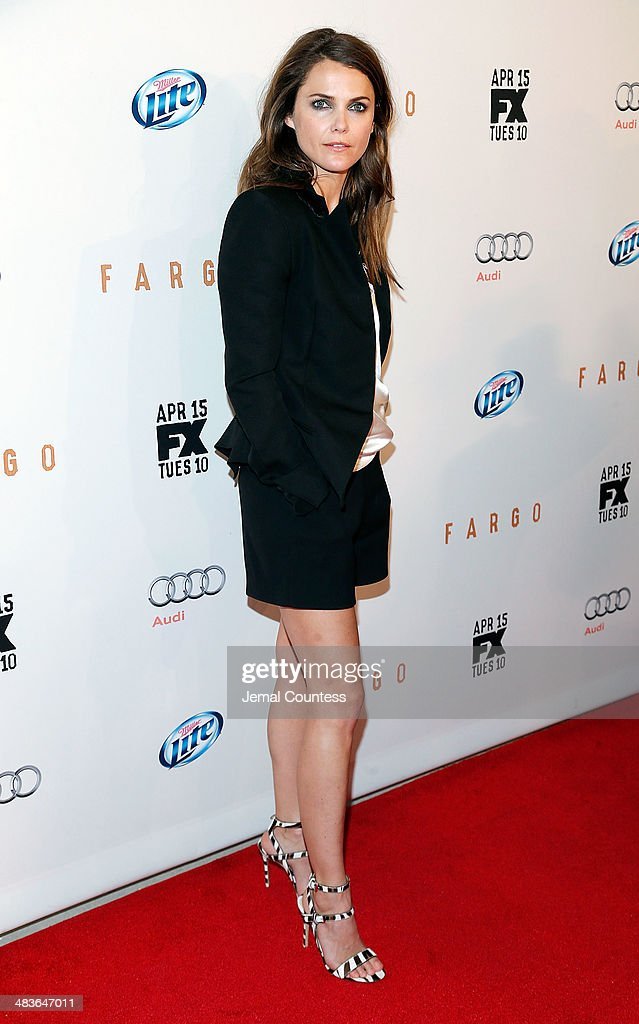 Actress <a gi-track='captionPersonalityLinkClicked' href=/galleries/search?phrase=Keri+Russell&family=editorial&specificpeople=203250 ng-click='$event.stopPropagation()'>Keri Russell</a> attends the FX Networks Upfront screening of 'Fargo' at SVA Theater on April 9, 2014 in New York City.