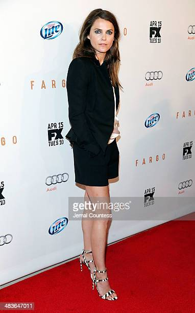 Actress Keri Russell attends the FX Networks Upfront screening of 'Fargo' at SVA Theater on April 9 2014 in New York City