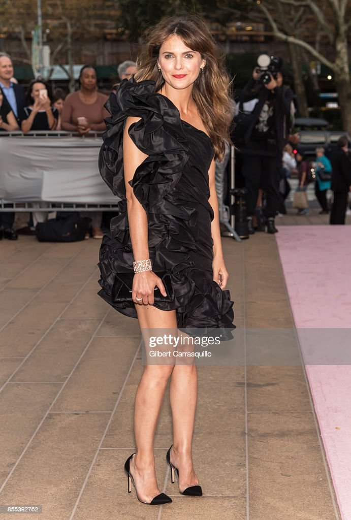 Actress Keri Russell attends the New York City Ballet's 2017 Fall Fashion Gala at David H. Koch Theater at Lincoln Center on September 28, 2017 in New York City.
