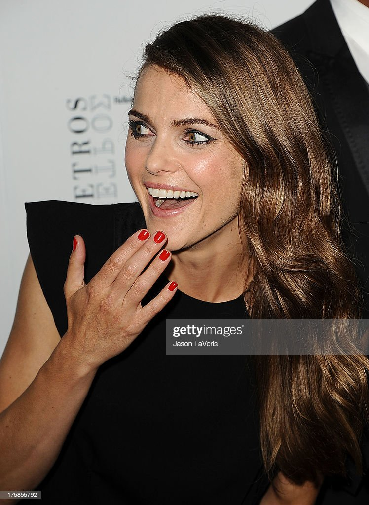 Actress <a gi-track='captionPersonalityLinkClicked' href=/galleries/search?phrase=Keri+Russell&family=editorial&specificpeople=203250 ng-click='$event.stopPropagation()'>Keri Russell</a> attends the premiere of 'Austenland' at ArcLight Hollywood on August 8, 2013 in Hollywood, California.