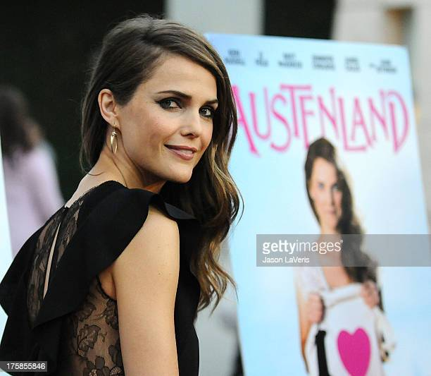 Actress Keri Russell attends the premiere of 'Austenland' at ArcLight Hollywood on August 8 2013 in Hollywood California
