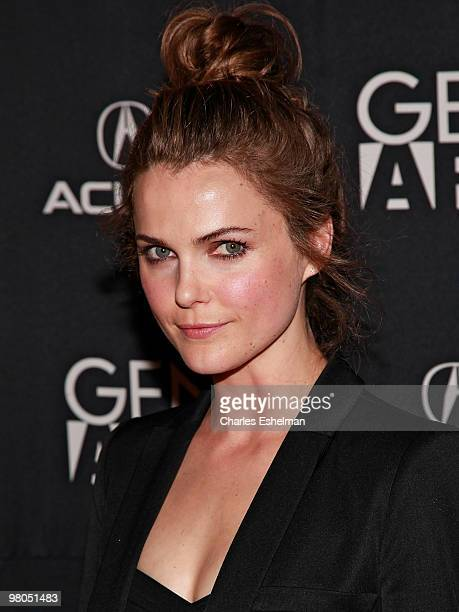 Actress Keri Russell attends the special screening of 'Leaves of Grass' at Sunshine Cinema on March 25 2010 in New York City