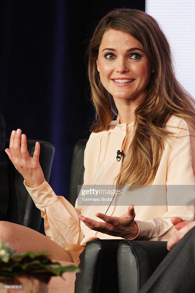 Actress Keri Russell attends the TCA 2013 Winter Press Tour - FX panels held at The Langham Huntington Hotel and Spa on January 9, 2013 in Pasadena, California.