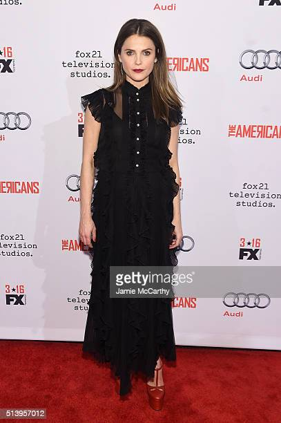 Actress Keri Russell attends the 'The Americans' season 4 premiere on March 5 2016 in New York City