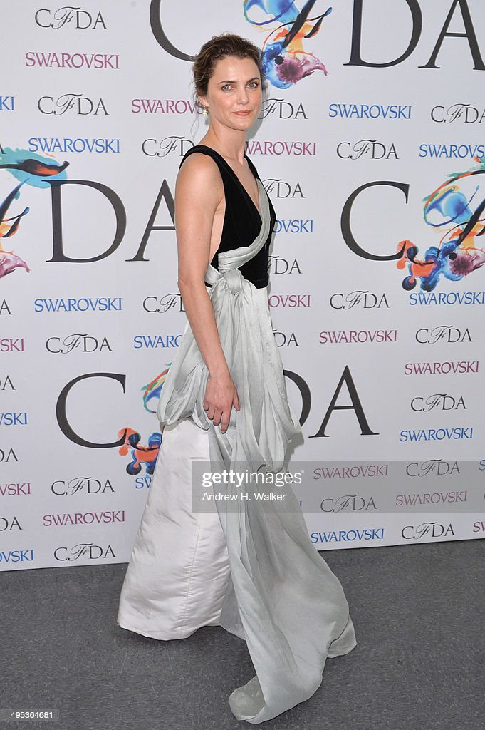 Actress Keri Russell attends the winners walk during the 2014 CFDA fashion awards at Alice Tully Hall, Lincoln Center on June 2, 2014 in New York City.