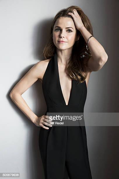 Actress Keri Russell is photographed for TV Guide Magazine on January 17 2015 in Pasadena California