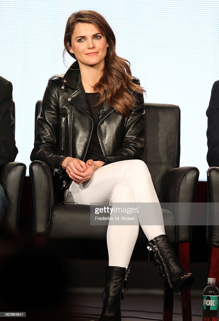 Actress Keri Russell of the television show 'The Americans' speaks onstage during the FX portion of the 2014 Television Critics Association Press Tour at the Langham Hotel on January 14, 2014 in Pasadena, California.