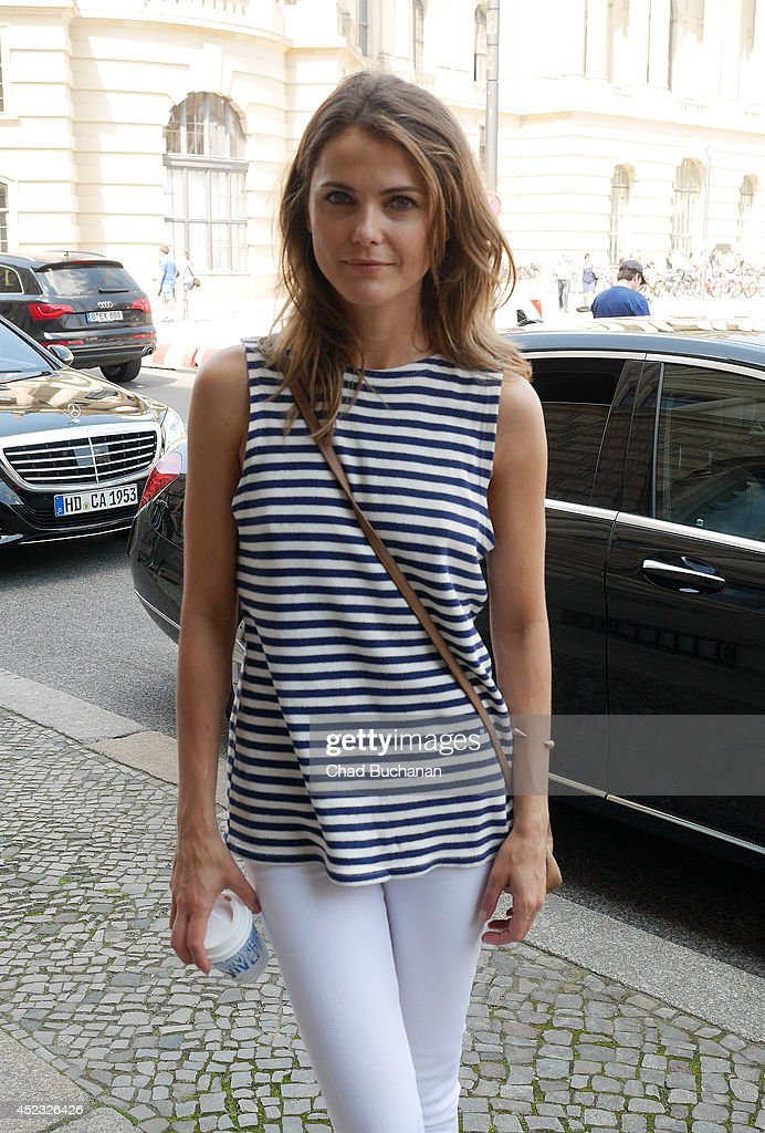 Actress <a gi-track='captionPersonalityLinkClicked' href=/galleries/search?phrase=Keri+Russell&family=editorial&specificpeople=203250 ng-click='$event.stopPropagation()'>Keri Russell</a> sighted at the Hotel de Rome on July 18, 2014 in Berlin, Germany.