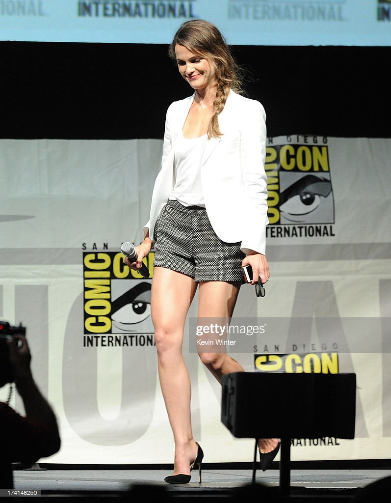 Actress Keri Russell speaks at the 20th Century Fox panel during Comic-Con International 2013 at San Diego Convention Center on July 20, 2013 in San Diego, California.