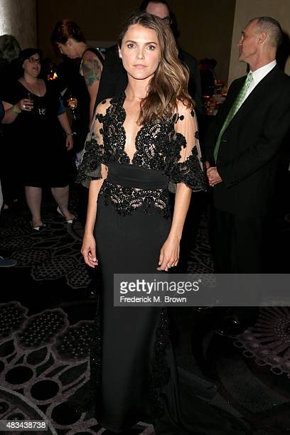 Actress Keri Russell speaks onstage at the 31st annual Television Critics Association Awards at The Beverly Hilton Hotel on August 8 2015 in Beverly...