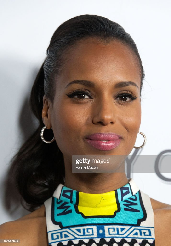 Actress Kerri Washington attends The Premiere Of RADiUS-TWC's 'The Details' at ArcLight Cinemas on October 29, 2012 in Hollywood, California.