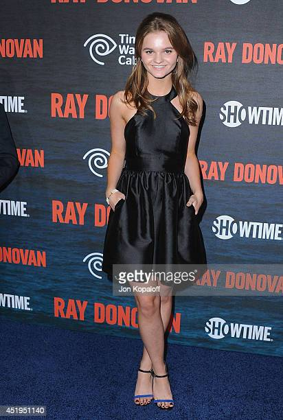 Actress Kerris Dorsey arrives at Showtime's Original Series 'Ray Donovan' Season 2 Premiere at Nobu Malibu on July 9 2014 in Malibu California
