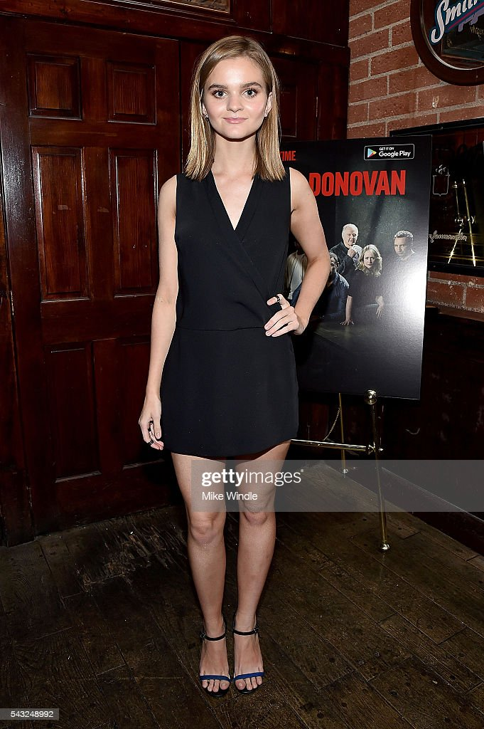 Actress <a gi-track='captionPersonalityLinkClicked' href=/galleries/search?phrase=Kerris+Dorsey&family=editorial&specificpeople=2258779 ng-click='$event.stopPropagation()'>Kerris Dorsey</a> attends a viewing party for Showtime's 'Ray Donovan' at O'Brien's Irish Pub on June 26, 2016 in Santa Monica, California.