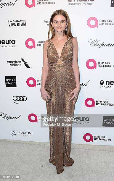 Actress Kerris Dorsey attends the 23rd Annual Elton John AIDS Foundation's Oscar Viewing Party on February 22 2015 in West Hollywood California