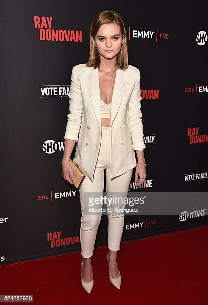 Actress Kerris Dorsey attends the For Your Consideration screening and panel for Showtime's 'Ray Donovan' at Paramount Theatre on April 25 2016 in...