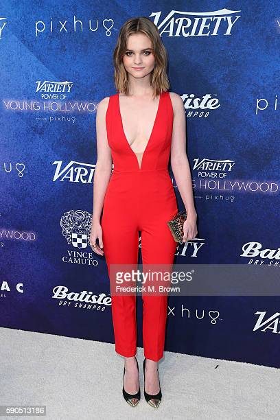 Actress Kerris Dorsey attends Variety's Power of Young Hollywood at NeueHouse Hollywood on August 16 2016 in Los Angeles California