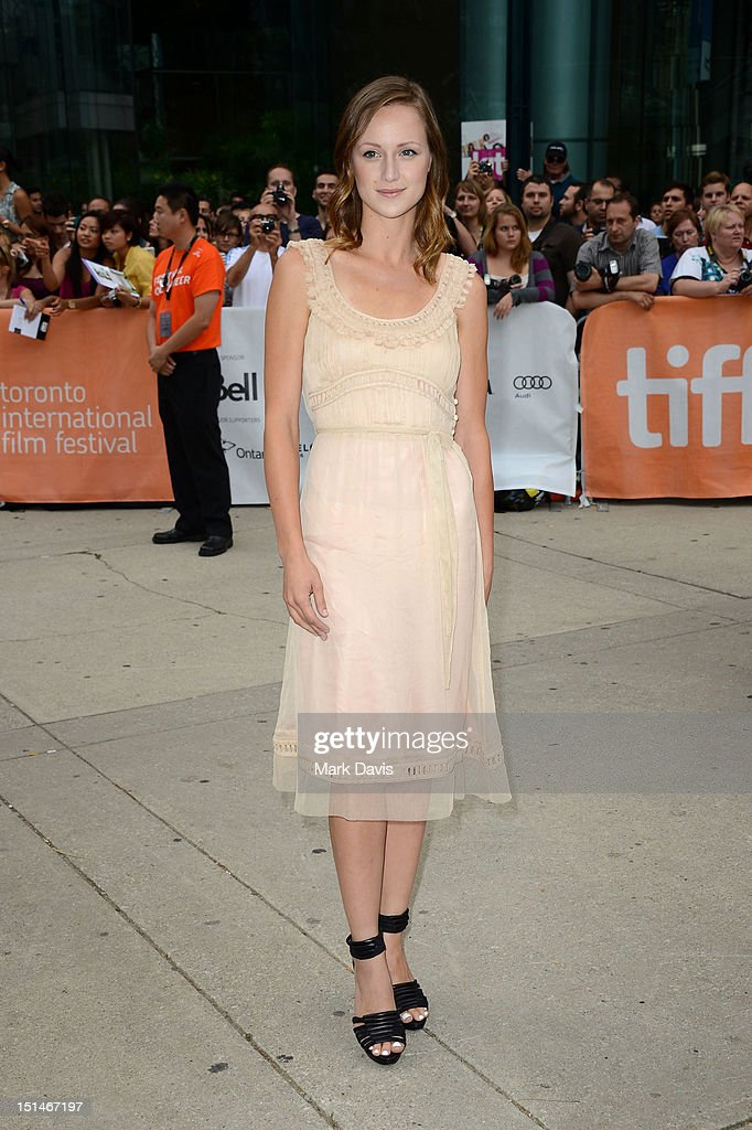 Actress Kerry Bishé attends the 'Argo' premiere during the 2012 Toronto International Film Festival at Roy Thomson Hall on September 7, 2012 in Toronto, Canada.