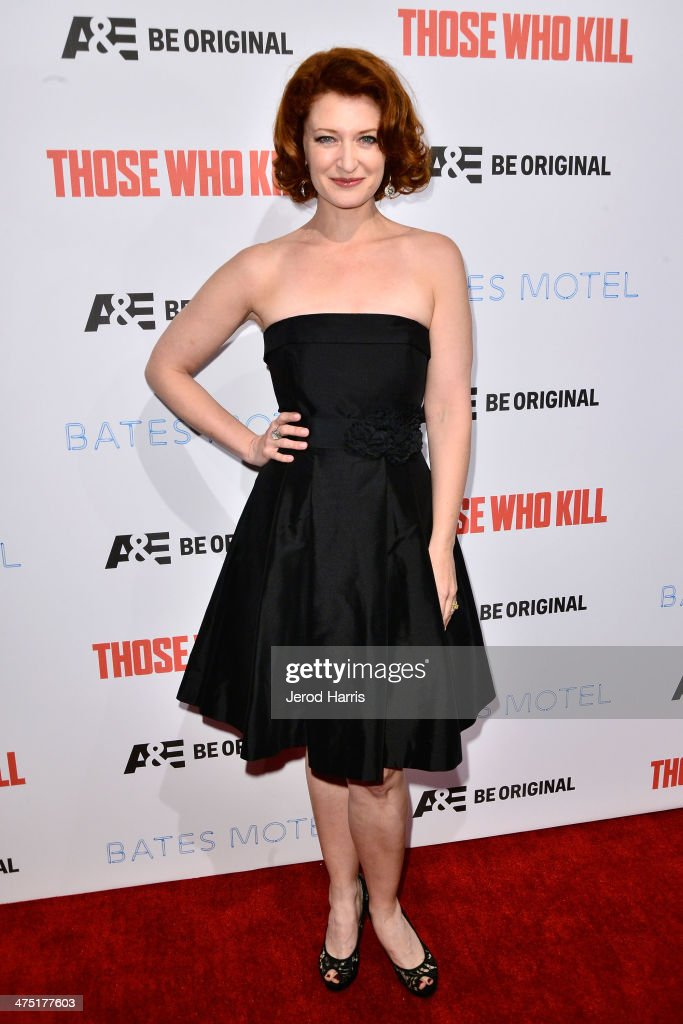 Actress Kerry O'Malley attends the premiere party for A&E's Season 2 Of 'Bates Motel' & series premiere of 'Those Who Kill' at Warwick on February 26, 2014 in Hollywood, California.