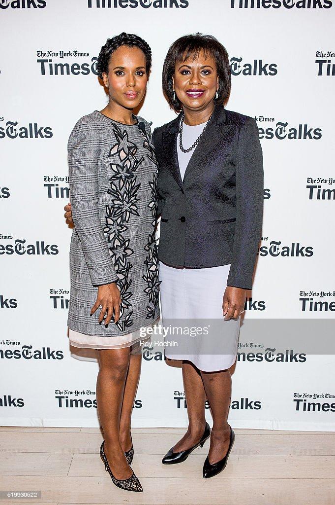 "TimesTalks Presents: Kerry Washington And Anita Hill  ""Confirmation"""