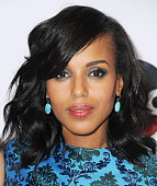 Actress Kerry Washington arrives at Disney ABC Television Group's 2015 TCA Summer Press Tour at the Beverly Hilton Hotel on August 4 2015 in Beverly...