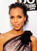 Actress Kerry Washington arrives at the 2011 VH1 Do Something Awards at the Hollywood Palladium on August 14 2011 in Hollywood California