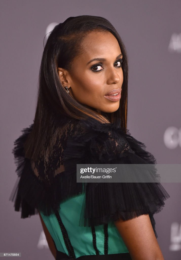 Actress Kerry Washington arrives at the 2017 LACMA Art + Film Gala at LACMA on November 4, 2017 in Los Angeles, California.