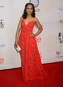 Actress Kerry Washington arrives at the 46th Annual NAACP Image Awards at the Pasadena Civic Auditorium on February 6 2015 in Pasadena California