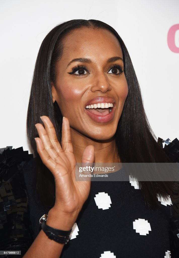 Actress Kerry Washington arrives at the 6th Annual Women Making History Awards at The Beverly Hilton Hotel on September 16, 2017 in Beverly Hills, California.