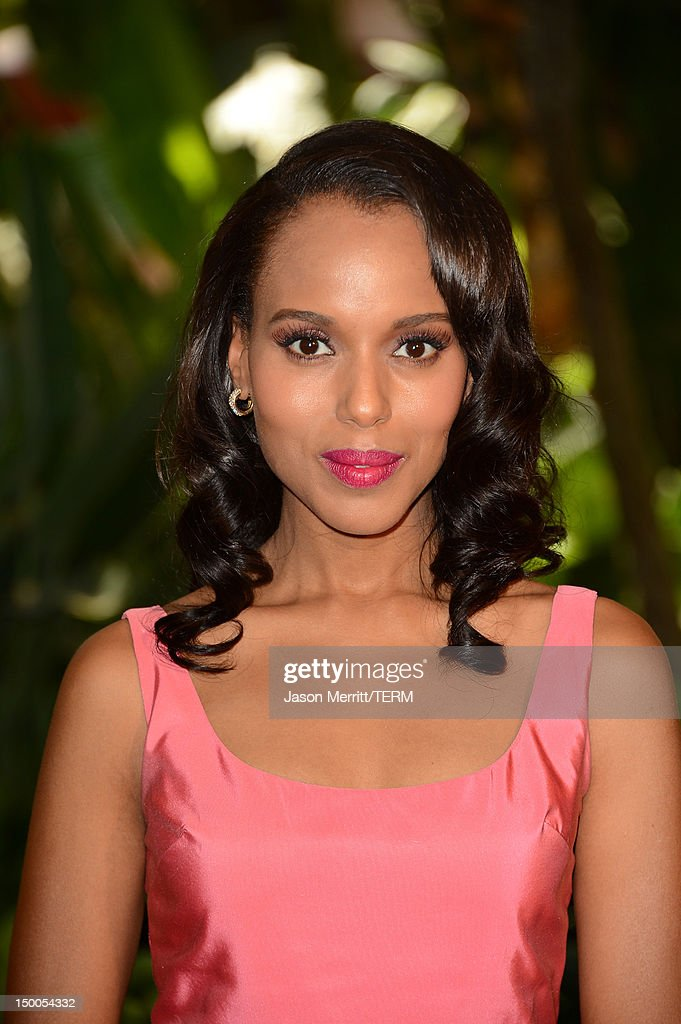 Actress Kerry Washington arrives at the Hollywood Foreign Press Association's 2012 Installation Luncheon held at the Beverly Hills Hotel on August 9, 2012 in Beverly Hills, California.