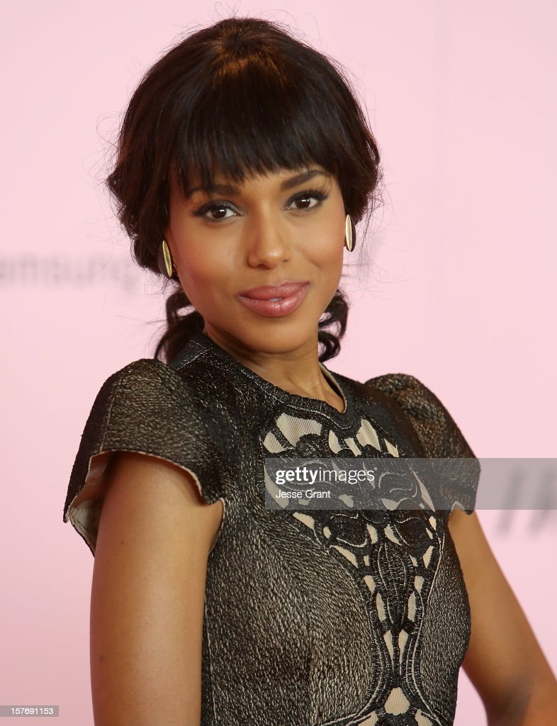 Actress <a gi-track='captionPersonalityLinkClicked' href=/galleries/search?phrase=Kerry+Washington&family=editorial&specificpeople=201534 ng-click='$event.stopPropagation()'>Kerry Washington</a> arrives at the Hollywood Reporter's 21st annual women in entertainment breakfast at The Beverly Hills Hotel on December 5, 2012 in Beverly Hills, California.