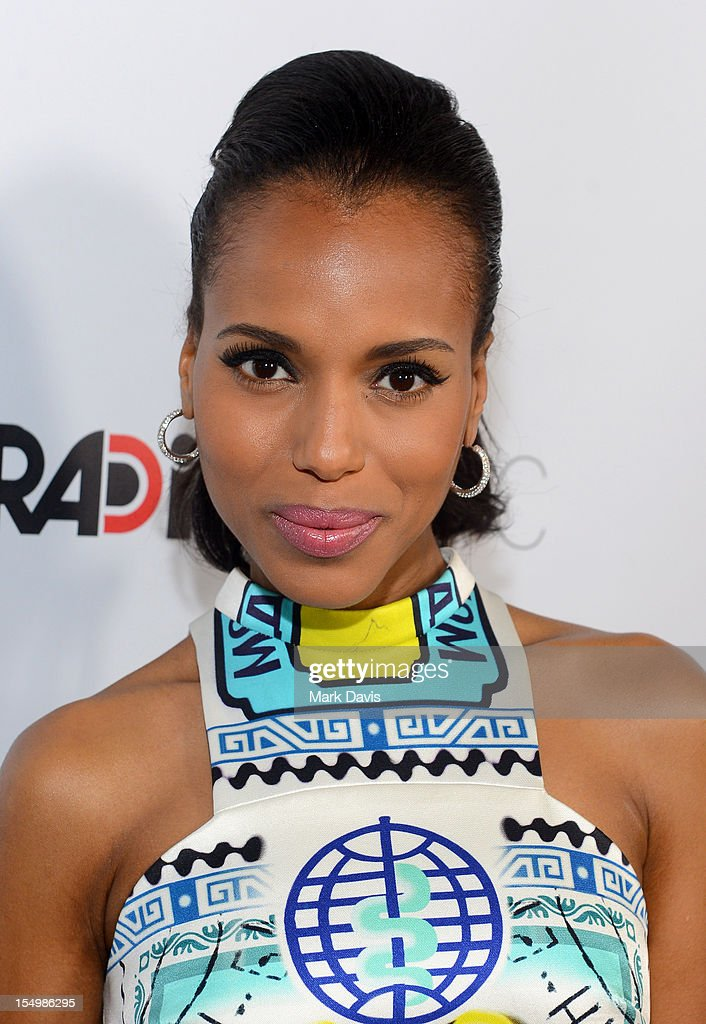 Actress Kerry Washington arrives at the premiere of RADiUS-TWC's 'The Details' held at ArcLight Cinemas on October 29, 2012 in Hollywood, California.