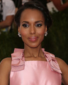 Actress Kerry Washington attends 'China Through the Looking Glass' the 2015 Costume Institute Gala at Metropolitan Museum of Art on May 4 2015 in New...