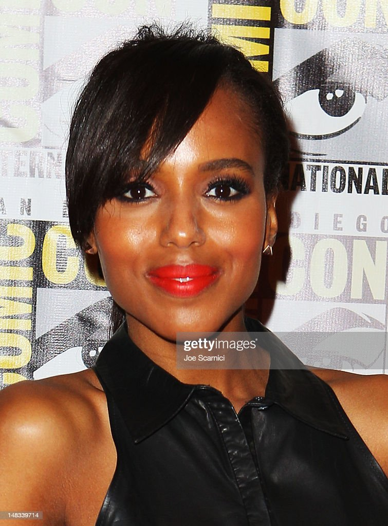 Actress Kerry Washington attends 'Django Unchained' at Comic-Con 2012 at Hilton San Diego Bayfront Hotel on July 14, 2012 in San Diego, California.