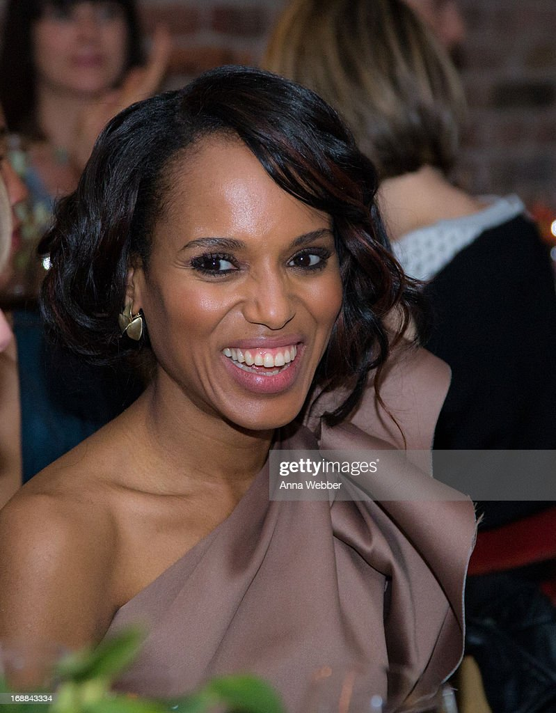 Actress Kerry Washington attends ELLE & Tod's Celebrate Kerry Washington at Il Buco Alimentari & Vineria on May 15, 2013 in New York City.