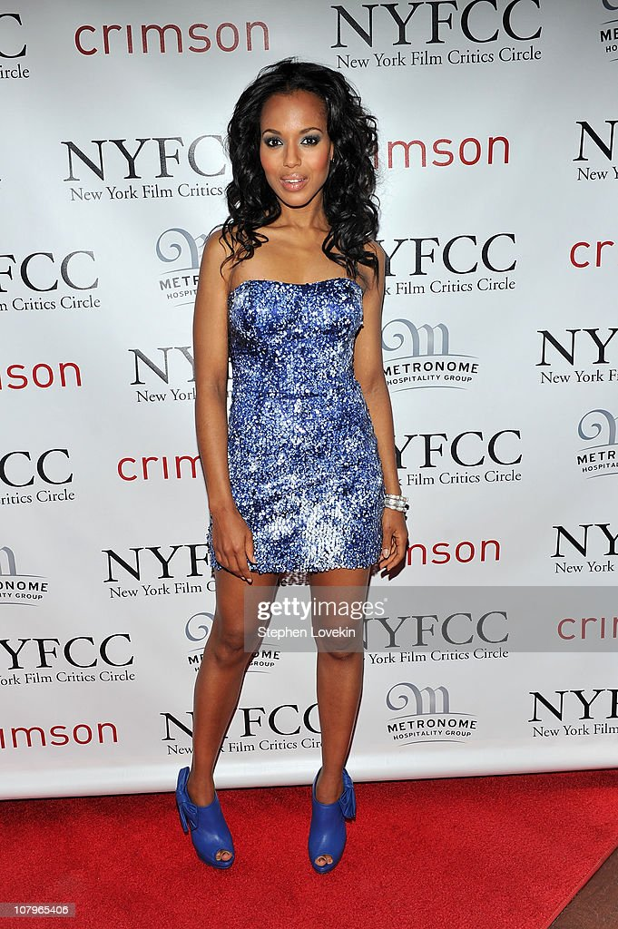Actress Kerry Washington attends the 2010 New York Film Critics Circle Awards at Crimson on January 10 2011 in New York City