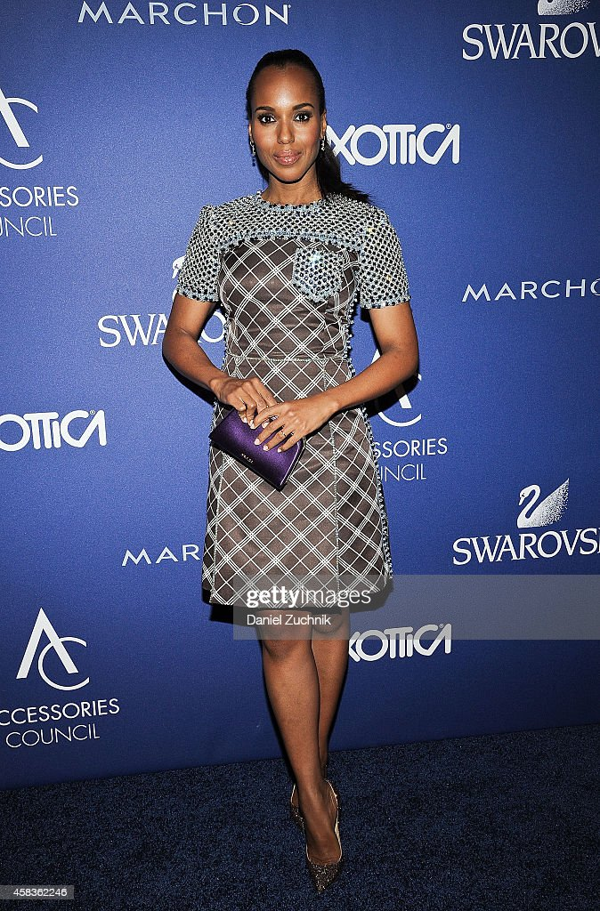 Actress <a gi-track='captionPersonalityLinkClicked' href=/galleries/search?phrase=Kerry+Washington&family=editorial&specificpeople=201534 ng-click='$event.stopPropagation()'>Kerry Washington</a> attends the 2014 ACE Awards at Cipriani 42nd Street on November 3, 2014 in New York City.
