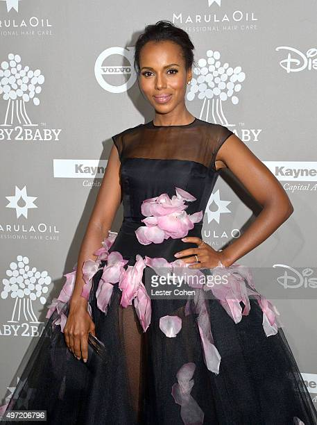 Actress Kerry Washington attends the 2015 Baby2Baby Gala at 3LABS on November 14 2015 in Culver City California