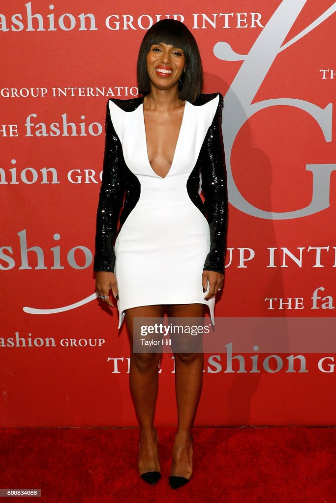 Actress Kerry Washington attends the 2017 FGI Night of Stars at Cipriani Wall Street on October 26, 2017 in New York City.