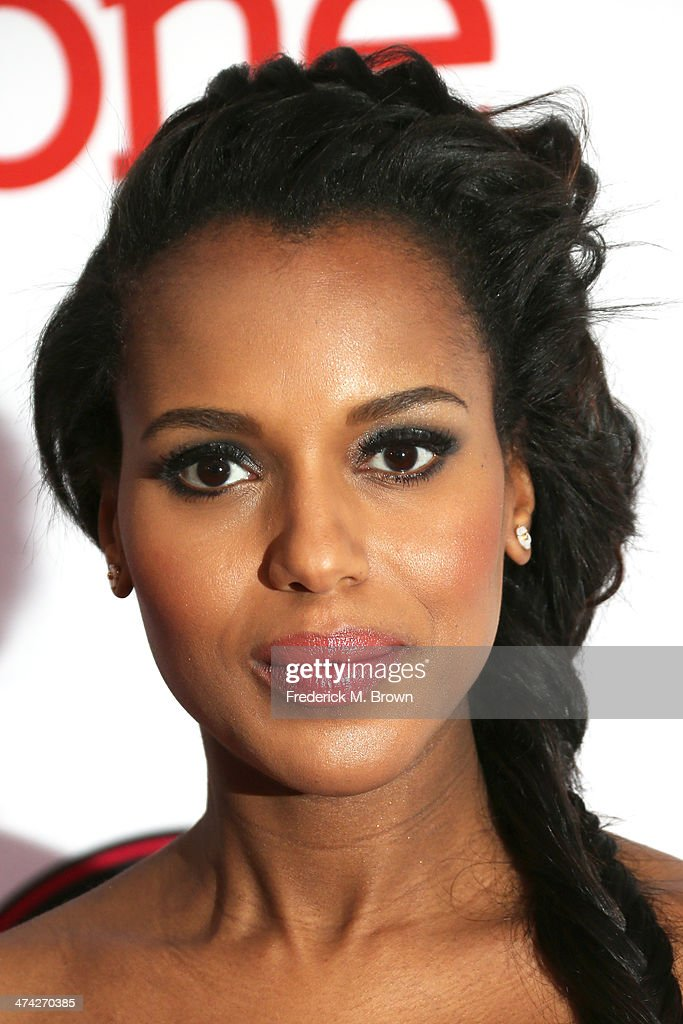 Actress Kerry Washington attends the 45th NAACP Image Awards presented by TV One at Pasadena Civic Auditorium on February 22, 2014 in Pasadena, California.