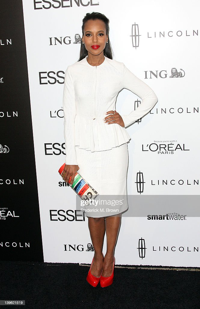 Actress <a gi-track='captionPersonalityLinkClicked' href=/galleries/search?phrase=Kerry+Washington&family=editorial&specificpeople=201534 ng-click='$event.stopPropagation()'>Kerry Washington</a> attends the 5th Annual ESSENCE Black Women in Hollywood Luncheon at the Beverly Hills Hotel on February 23, 2012 in Beverly Hills, California.
